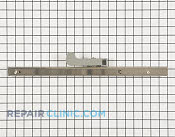 Drawer Slide Rail - Part # 1557905 Mfg Part # 102343-02