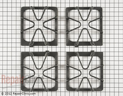 Burner Grate W10447925 Main Product View