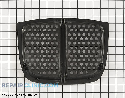 Grille insert-hex-bla 1001541MA       Main Product View