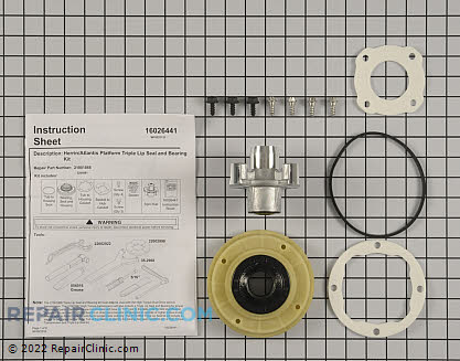 Tub Seal and Bearing Kit W10219156       Main Product View