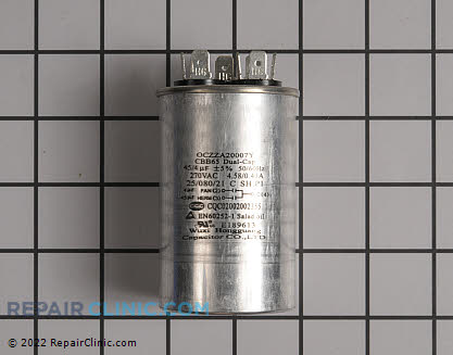 Capacitor 0CZZA20007Y     Main Product View