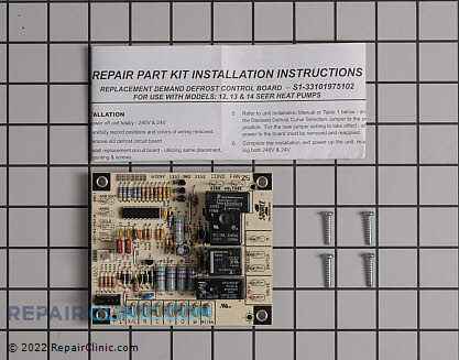 Defrost Control Board S1-33101975102 Main Product View