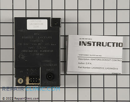 Control Module LH33WZ513 Main Product View