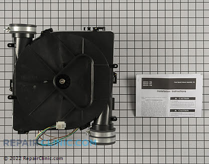 Draft Inducer Motor Assembly 320725-756 Main Product View