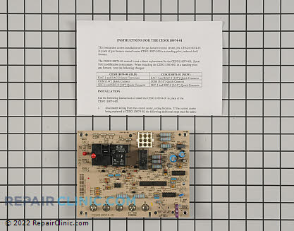 Control Board CESO110074-01 Main Product View