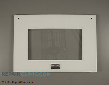 Oven Door Glass 318261319       Main Product View