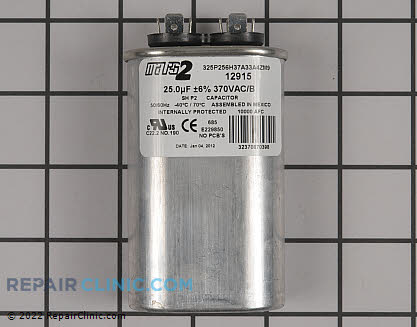 Run Capacitor CPT00160 Main Product View