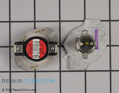 Thermal Cut Out Fuse Kit W10154212       Main Product View