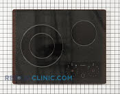 Glass Cooktop - Part # 1475105 Mfg Part # WB62X10060