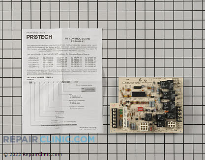 Control Board 62-24084-82 Main Product View