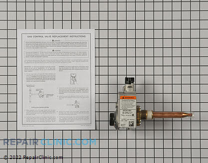 Gas Valve and Thermostat Assembly 9003407105 Main Product View