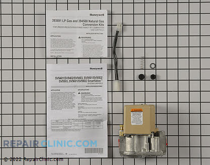 Gas Valve Assembly SV9501M2528 Main Product View