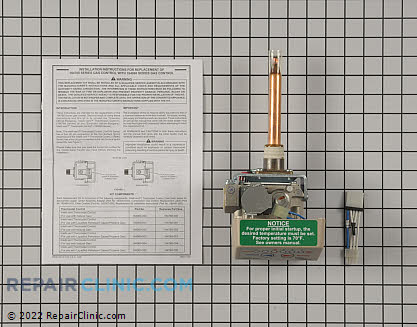 Gas Valve and Thermostat Assembly 9004312005 Main Product View