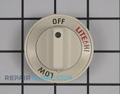 Control Knob - Part # 1084877 Mfg Part # WB03T10216