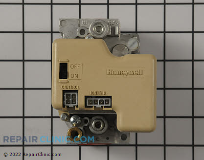 Gas Valve and Thermostat Assembly 222-40762-01 Main Product View