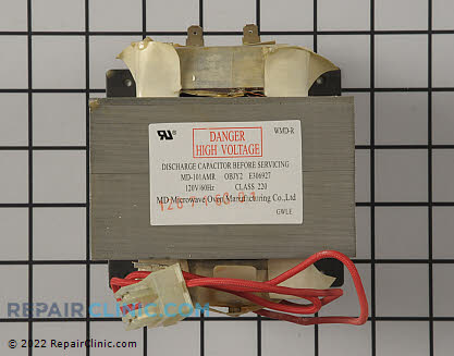 High Voltage Transformer 00620524 Main Product View