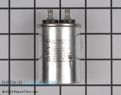 Run Capacitor WR62X10017      Main Product View