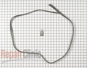 Dishwasher door gasket kit. Includes new strike for door latch.