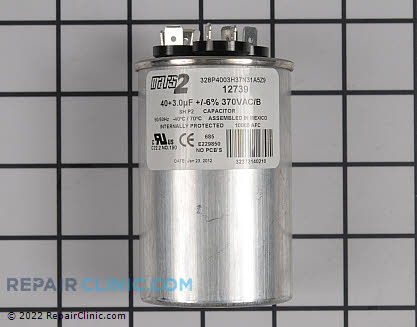Run Capacitor 43-25133-04 Main Product View