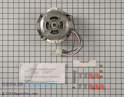 Circulation and Drain Pump Motor 5303943142 Main Product View