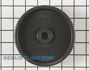 Heavy-duty plastic deck wheel - Part # 1655789 Mfg Part # 210-179