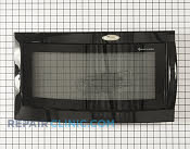 Microwave Oven Door - Part # 1060050 Mfg Part # 8205414