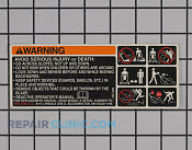 Decals and Labels - Part # 2141628 Mfg Part # 105-1295