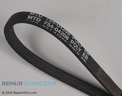 Belt: V-Belt 954-04208 Main Product View