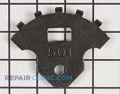 Bracket & Flange - Part # 2419490 Mfg Part # 407501X005