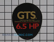 Decal - Part # 2142019 Mfg Part # 105-8570