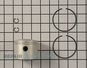Piston and rings asm - Part # 2139208 Mfg Part # 100-2916
