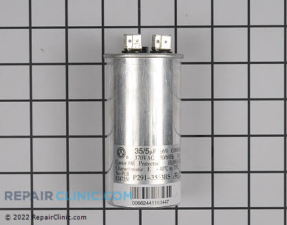 Dual Run Capacitor P291-3553RS Main Product View