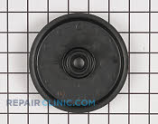 Flat Idler Pulley - Part # 1769264 Mfg Part # 07306100