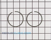 Piston Ring Set - Part # 1853449 Mfg Part # 681737