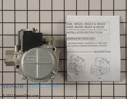 Gas Valve Assembly VAL07731 Main Product View
