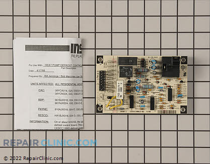 Defrost Control Board CESO110063-02 Main Product View