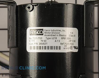 Blower Motor 26G42           Main Product View