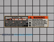 Decals and Labels - Part # 1642021 Mfg Part # 697457