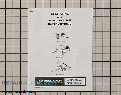 Owner's Manual 803718R1 Main Product View