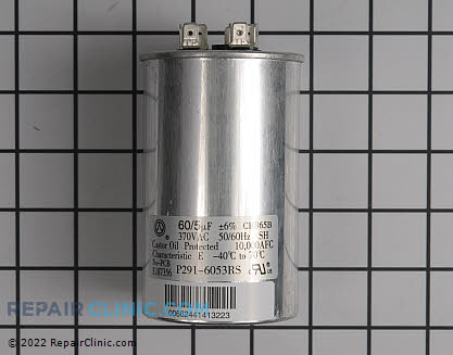 Run Capacitor P291-6053RS Main Product View