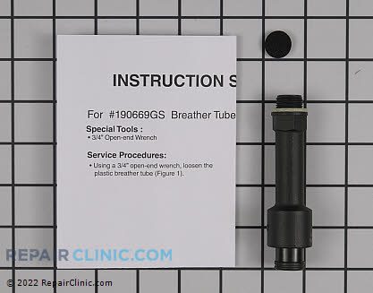 Kit  breather tube 190669GS Main Product View