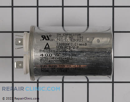 Run Capacitor EAE59075704 Main Product View