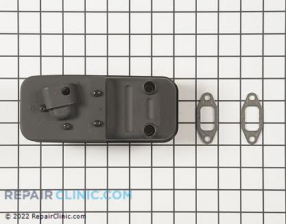 Muffler P021007514 Main Product View