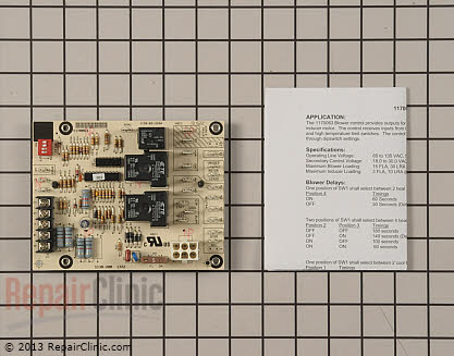 Control Board 1170063 Main Product View