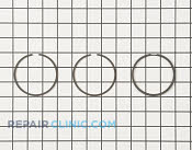 Piston Ring Set - Part # 1730432 Mfg Part # 40007