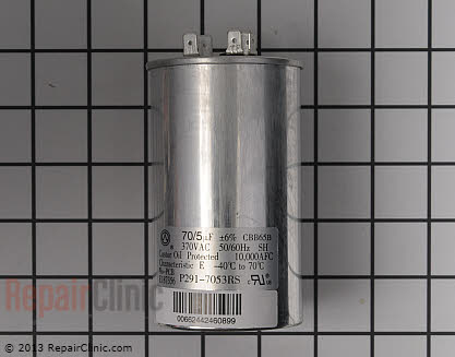 Run Capacitor P291-7053RS Main Product View