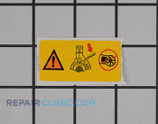 Decal - Part # 1986703 Mfg Part # 530057414