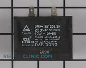 Run Capacitor - Part # 2028211 Mfg Part # 2301-001837
