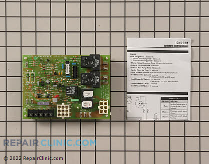 Control Board ICM2801 Main Product View