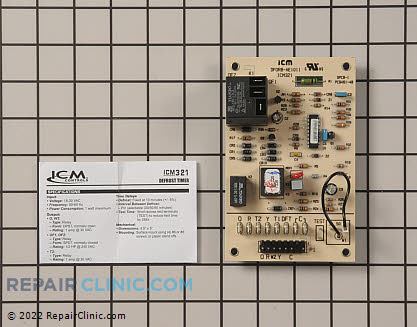 Defrost Control Board ICM321 Main Product View